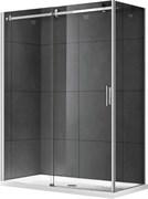 GEMY Modern Gent 150x80 Душевой уголок, стекло  прозрачное 8 мм, профиль хром